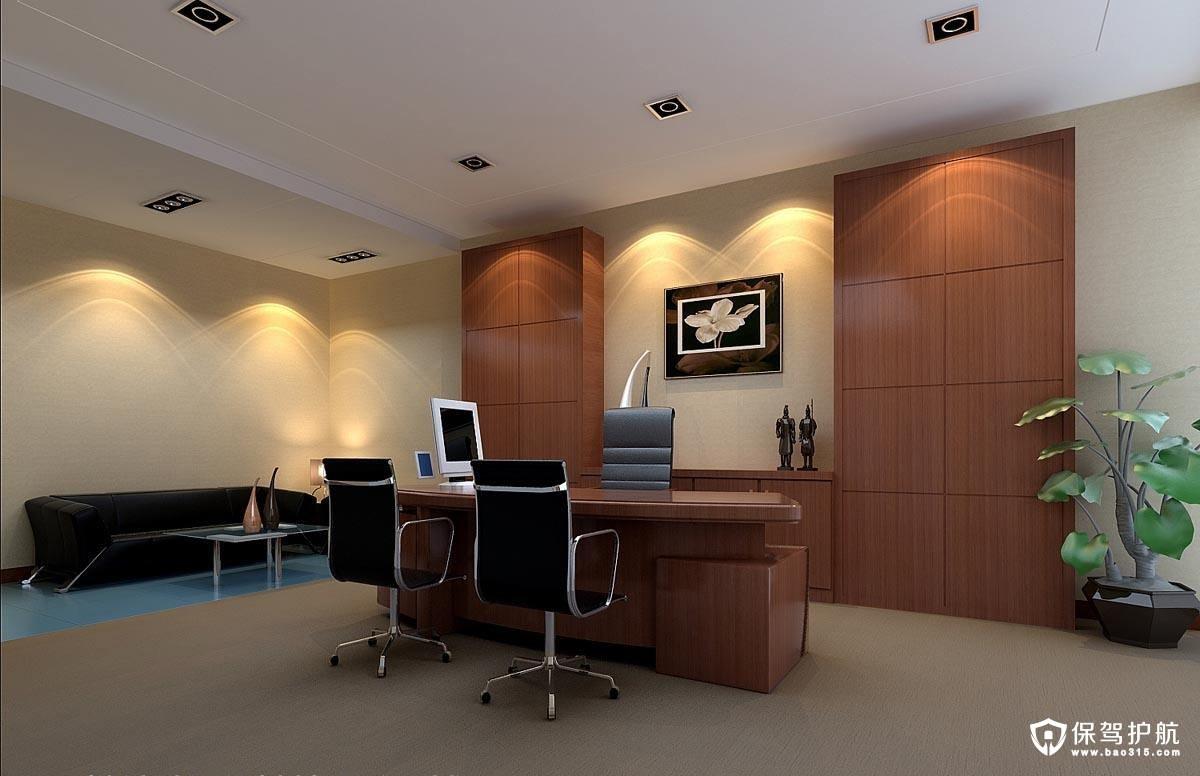 1、干净的办公室墙面   在办公室给人留下的第一视感印象中,墙面占最大面积,第一感觉通常是像一张干净纯洁的白纸,纸上均匀设置了一些桌椅家具和少量漂亮的小装饰。所以简约的办公室装饰一定要先保持白色墙面的纯净,让家具、软装表现更出众,无需太多装饰点缀,简洁即可。   2、注意办公室设计的光线   白色作为一个可以映衬一切的底色,光线配合会很大程度影响到视觉感,是否足够明亮,或是有些区域适合柔和的光线。环境影响人的情绪和心理感受,我们在办公室装饰设计的光线灯饰布局当中应满足照明需求,同时增加空间的层次感,