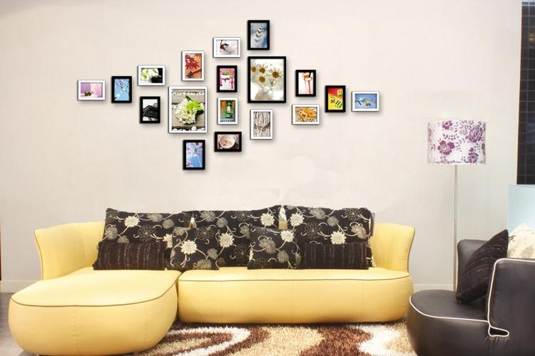 照片墙怎样选择相框?赤峰晨苑装饰告诉您设计照片墙才不显得凌乱?