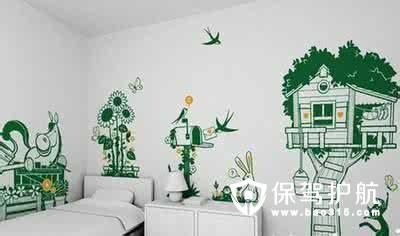墙面手绘,不一样的风景线