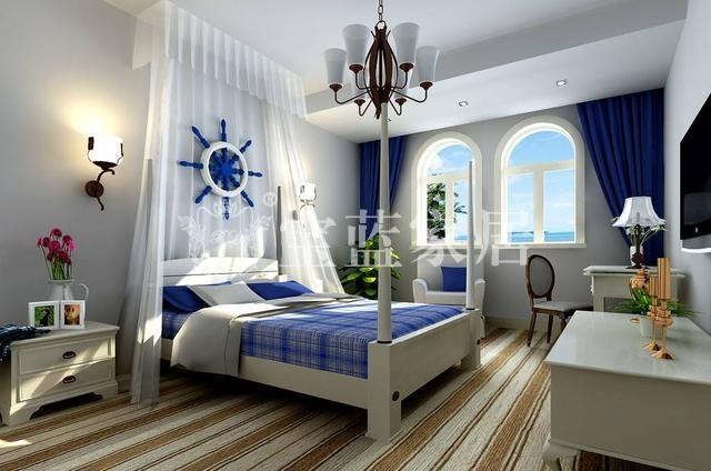武汉家装【宝蓝装饰】地中海风格—远洋心里