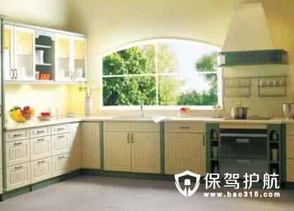 厨房的橱柜台面摆放风水知识