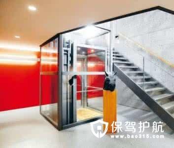 螺杆式家用电梯优点