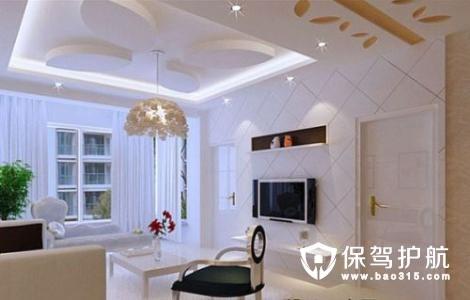 客厅吊顶如何设计
