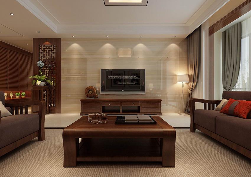 九州城-中式风格家装效果图