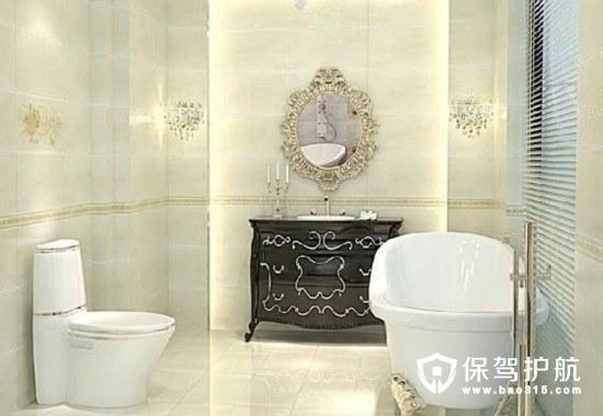 浴室瓷砖颜色与技巧