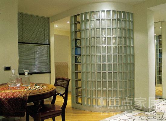 家居装修如何巧用玻璃砖 且看几款玻璃砖效果图
