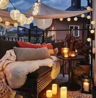 露天阳台设计,抚摸户外的空气
