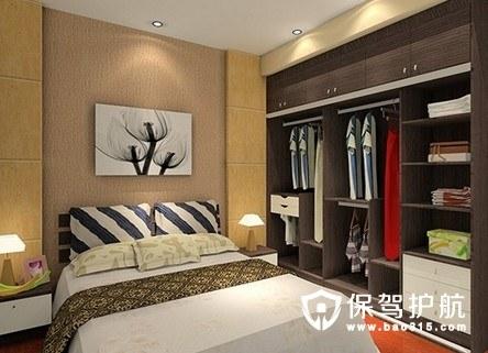 卧室衣柜应该如何搭配