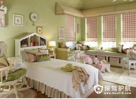 不同风格儿童房装修