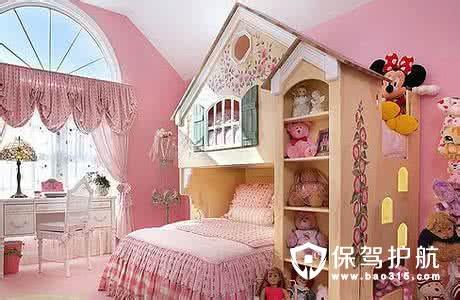 儿童房装修效果图大全
