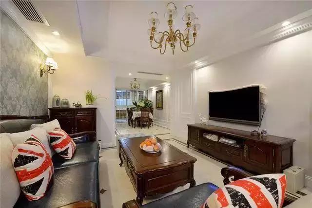 简约美式风格的三居室 您会爱吗?