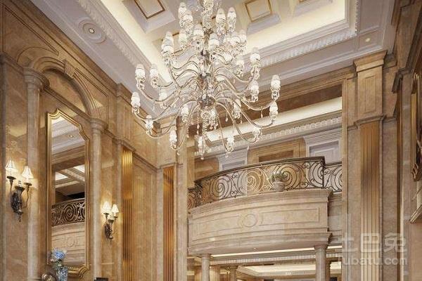复式楼客厅吊灯价格与挑选原则介绍图片