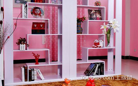 书柜隔断墙