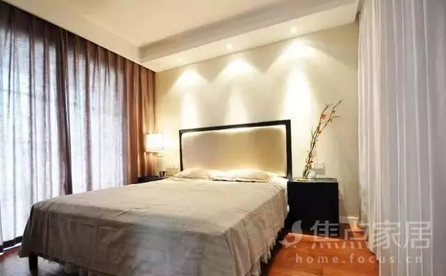 120平米新中式风格三室两厅两卫装修效果图图片