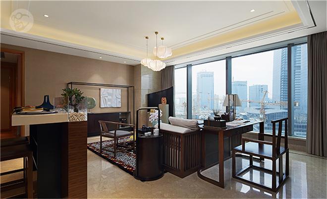丽凯设计郭丽丽作品:苏州中心公寓样板房A-1户型