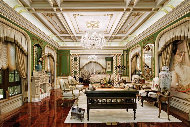金复旦设计作品:红庐50维多利亚风格样板房