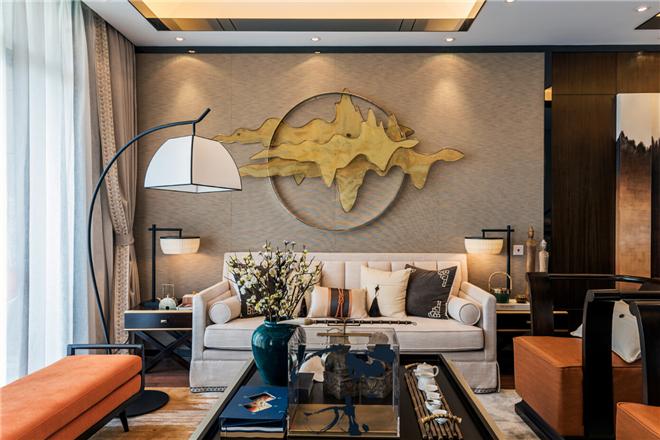 乐摩装饰:上海新弘墅园别墅样板房·上叠户型