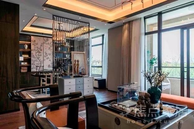 127平旧房改造3室2厅新中式美家