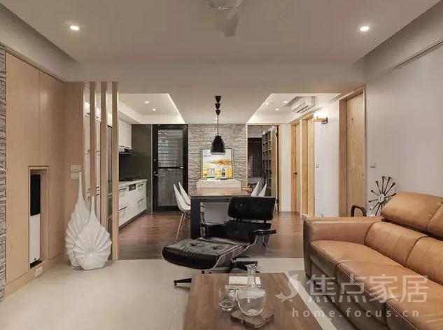 室内装修|旧房改造,80平米的简约两居室比新房还高档!