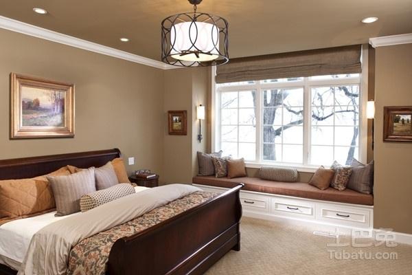 三款卧室飘窗设计方法教你偷出一个小次卧图片