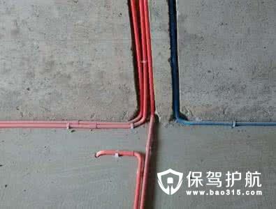 水电施工中布线原则