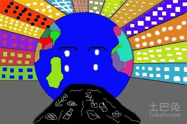 小学生电脑绘画作品欣赏与解读图片