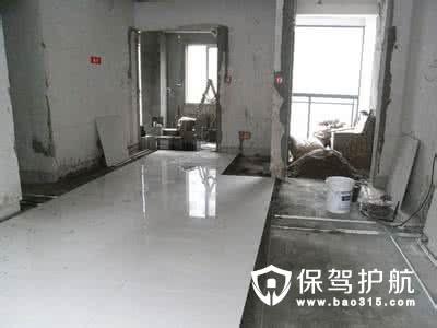 泥工铺地砖的施工步骤