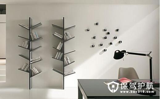特色书架设计 书架装修效果图