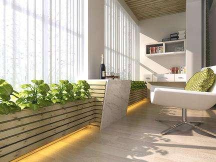 如何利用阳台的有限空间