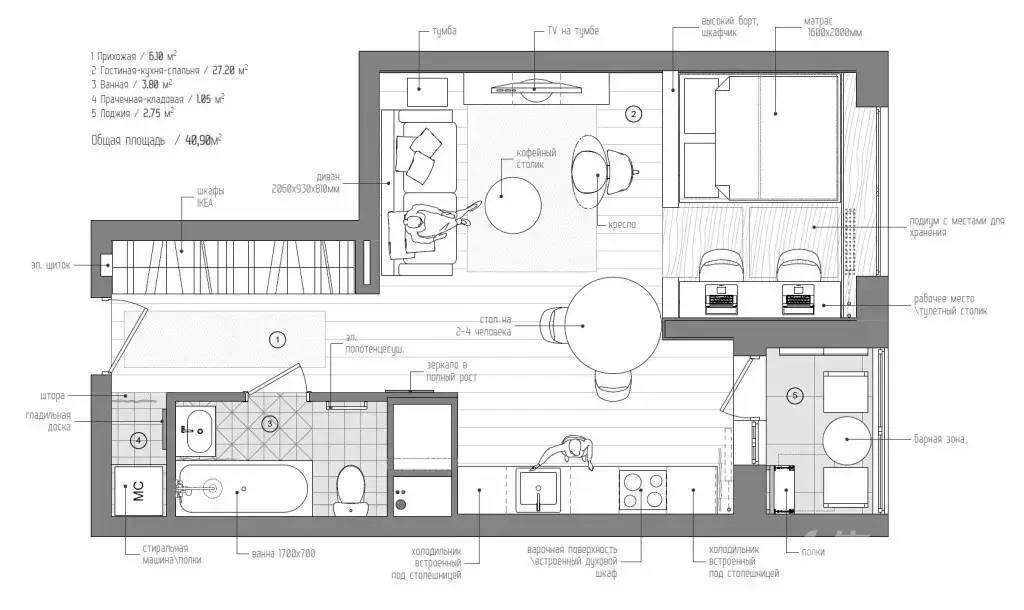 40m²小家完爆大户型,必须给赞!