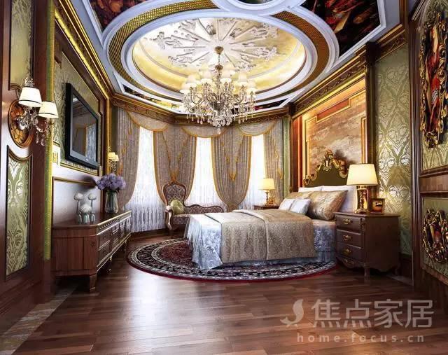 图赏丨精选25款欧式卧房装修案例
