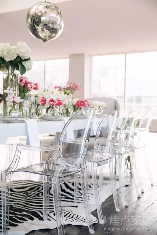 潮人都在用透明家具,轻松打造夏日清凉感!