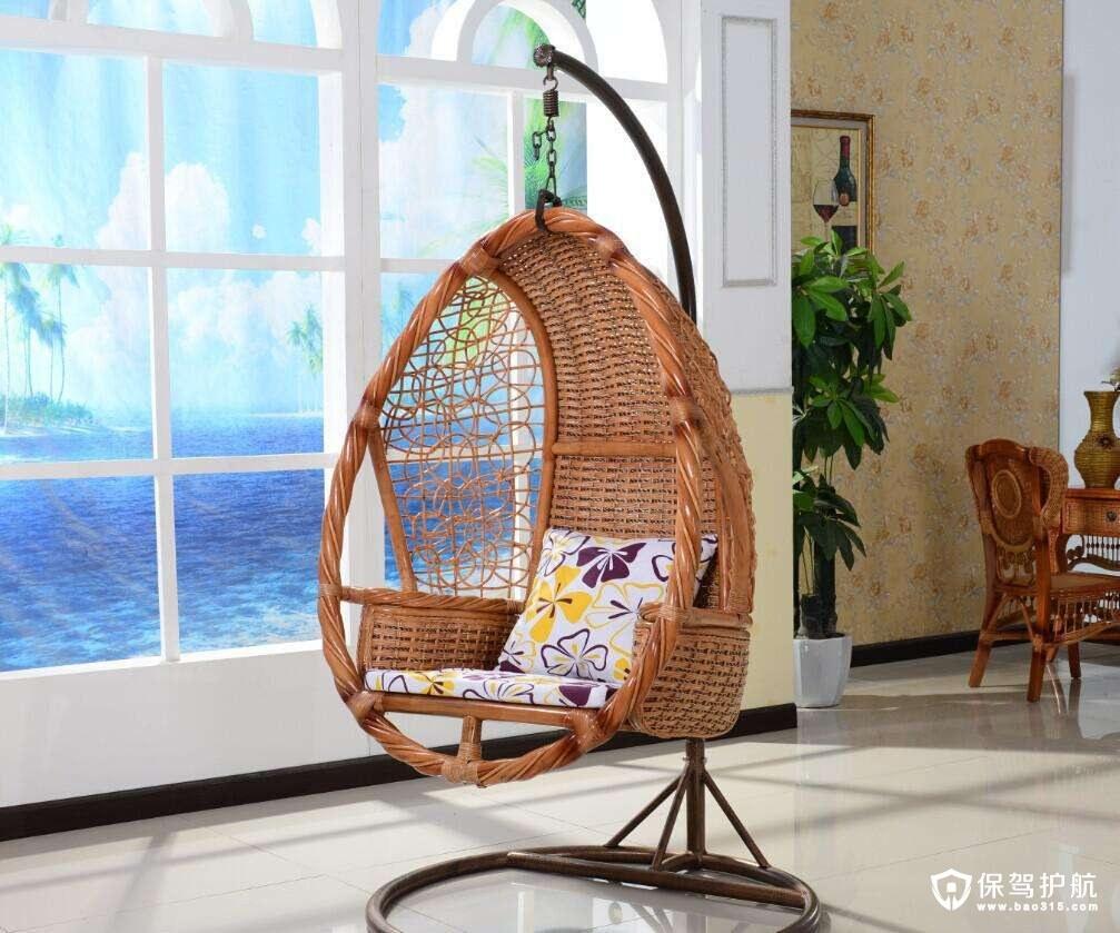 半圆形吊椅图片