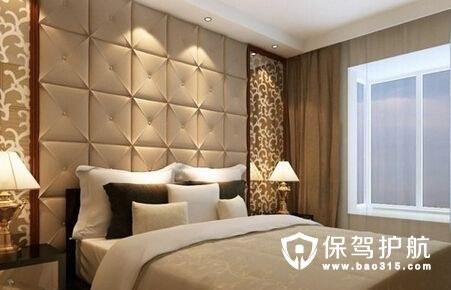 卧室软包背景墙如何清洁