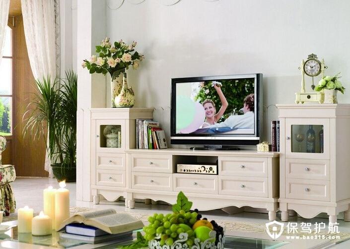 不同风格的电视柜高度是多少
