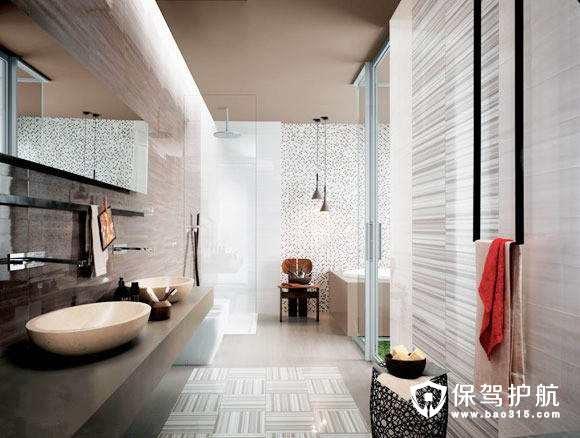 卫浴装修如何节省空间?