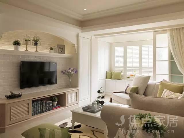 美式客厅装修,谁看了都会心动!图片