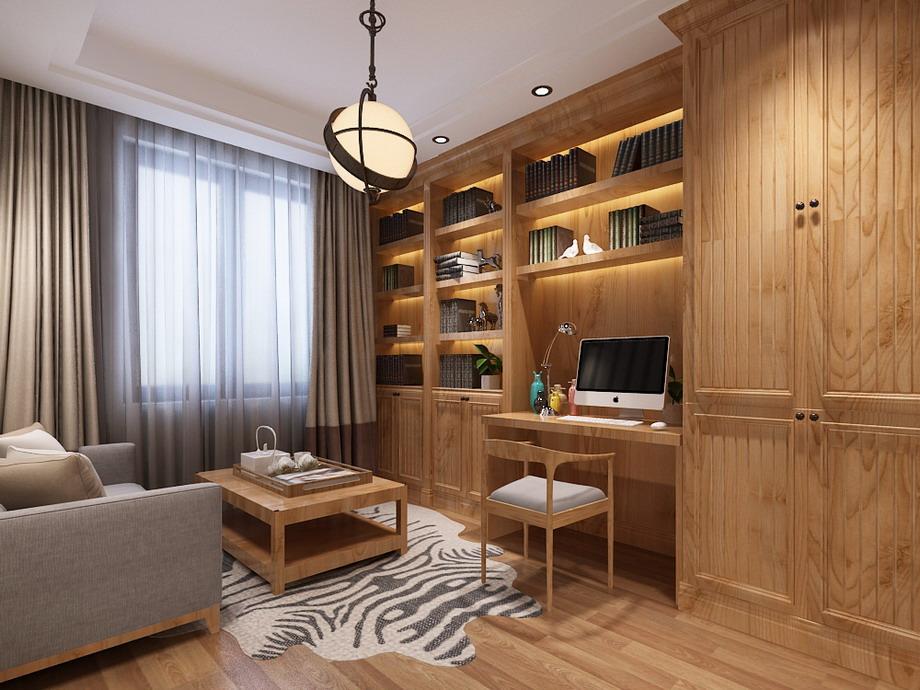 160平四居室美式风格