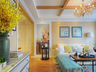 时尚不张扬   新古典优雅风三居室