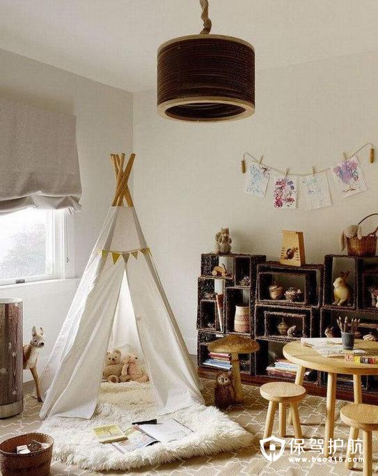 男孩卧室可以怎样设计