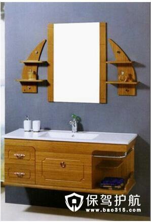 三种风格的卫浴柜设计
