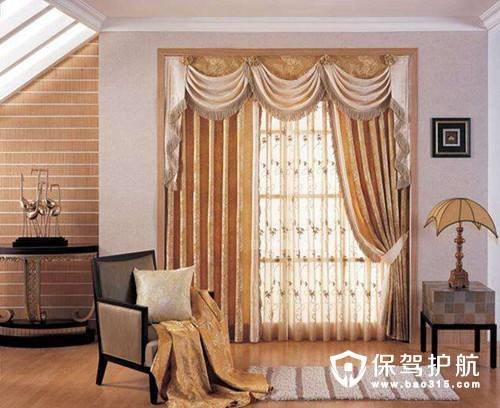 家居窗帘怎样搭配好看?