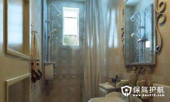 如何装修卫浴能让空间看起来比较大