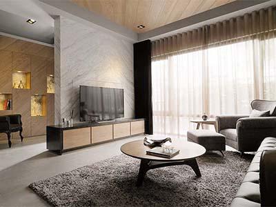 新古典设计低调奢华大三居