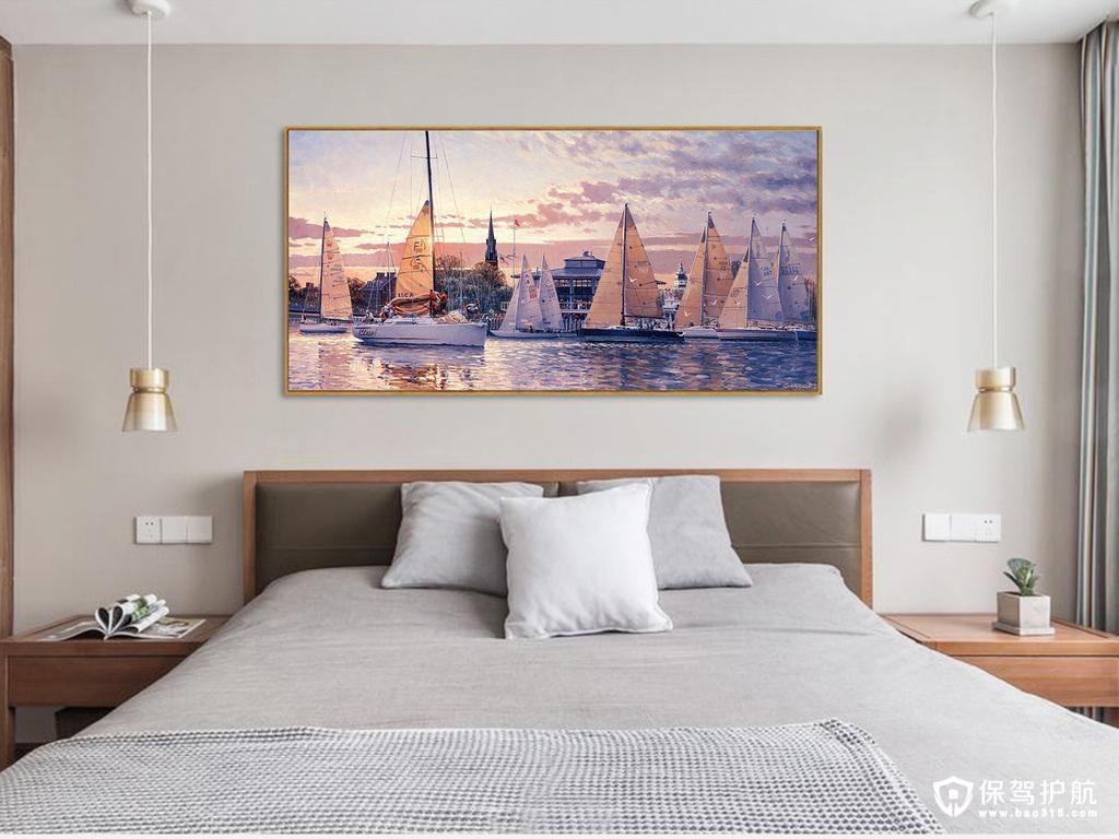 卧室装饰画怎么摆,卧室装饰画怎么选择