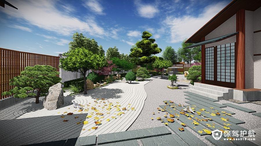 日式庭院装修技巧