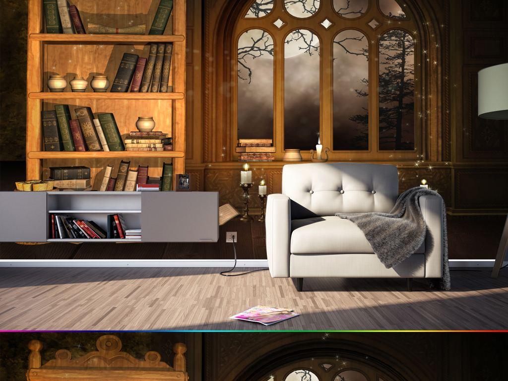 我的家里必须要有一个这样的书房!