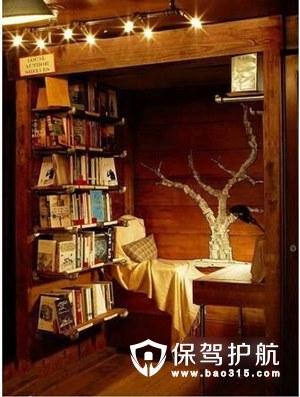 七款精美书房装修案例,书房设计技巧