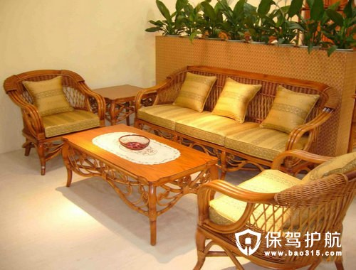 藤艺沙发的特点,藤艺沙发的选购方法