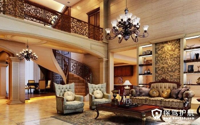 复式楼客厅装修技巧,复式楼客厅怎么装修好看
